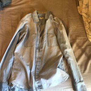 MADEWELL denim jacket / sweater
